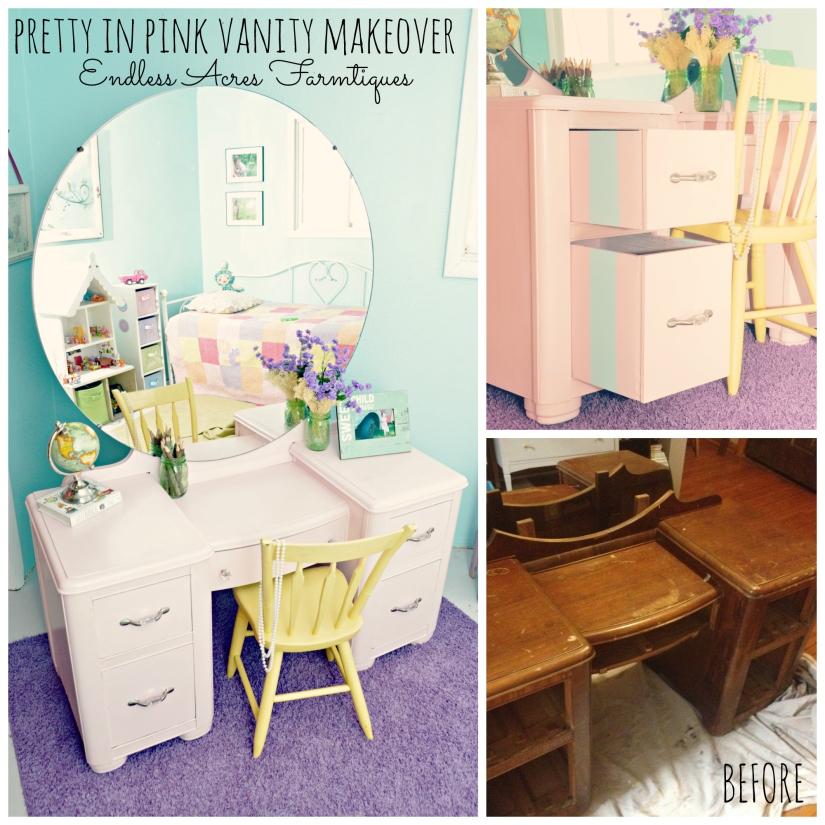 Pink Vanity www.endlessacresfarmtiques.com