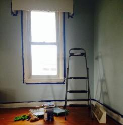 Cornice upon moving in.